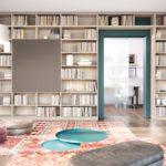 La libreria a parete