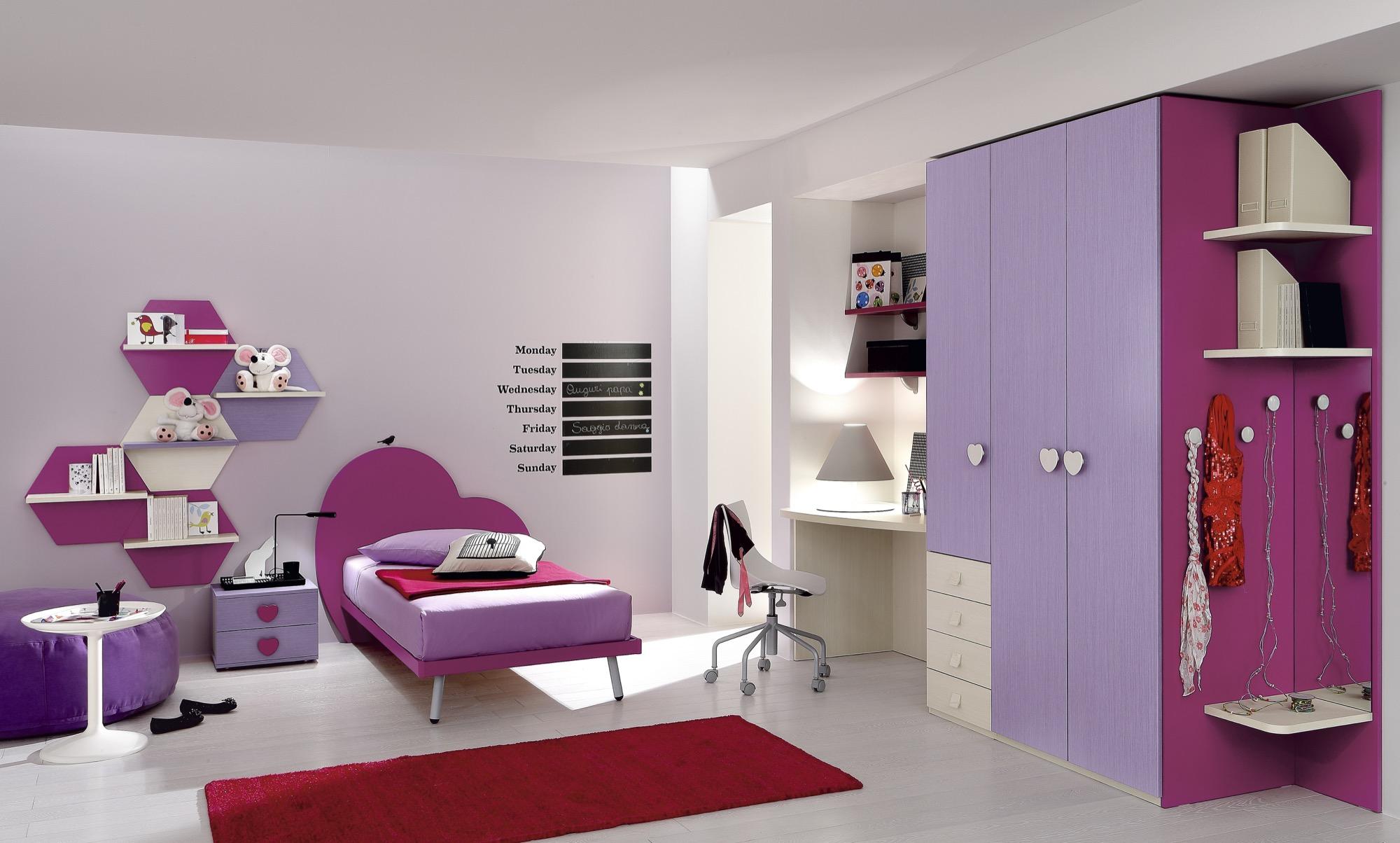 foto di camere da letto per ragazzi: camere. colori per camera da ... - Letto Baldacchino Ragazza